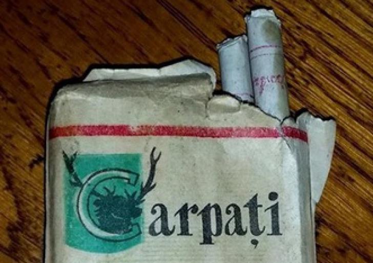 Mai ai pe acasă pachete de ţigări Carpaţi? ULUITOR cât valorează acum
