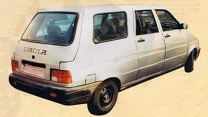 Dacia MPV, maşina hidoasă cu 7 locuri, care a eşuat lamentabil