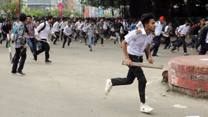 Proteste la Dhaka