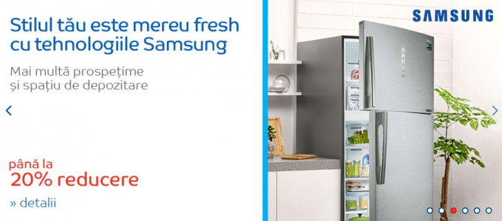eMAG. 10 produse Samsung la reduceri. Televizoare, telefoane, frigidere si multe altele