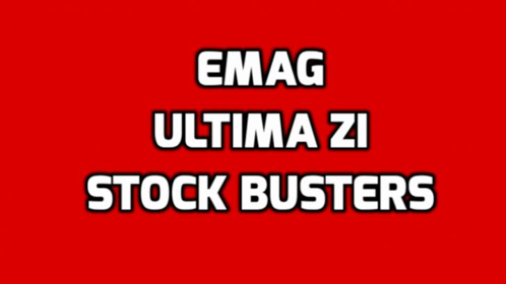 eMAG Stock Busters - Ultimele ore din cea mai mare promotie de lichidare de stocuri