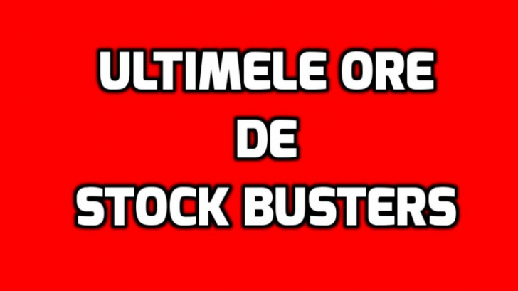 eMAG - Ultimele ore de Stock Busters! Ce mai gasesti in ultima clipa la lichidare de stocuri