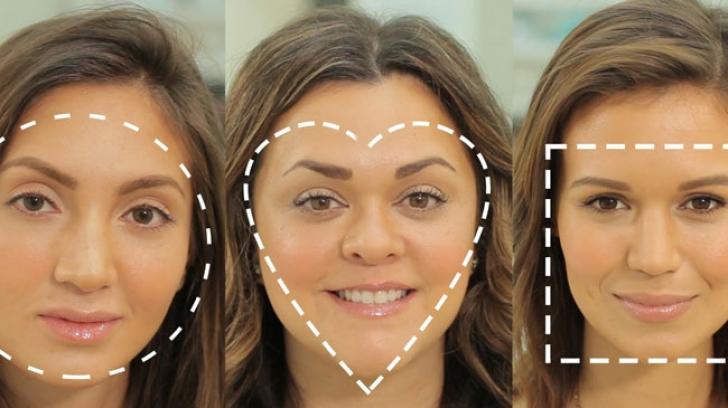 Cum determini corect ce formă a feței ai