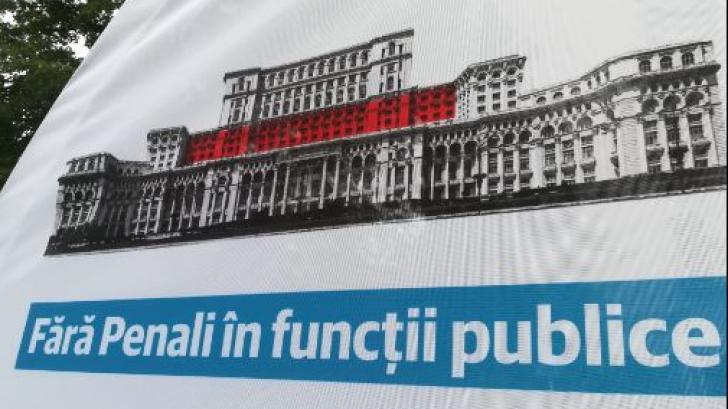 """USR: Iniţiativa """"Fără penali în funcţii publice"""", semnată şi de membri PSD"""