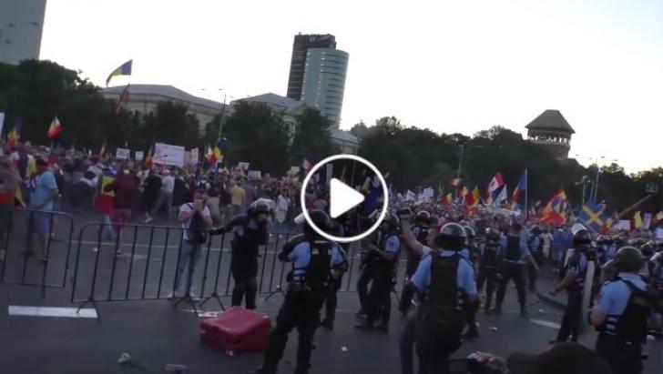 Jandarmeria, filmul protestului