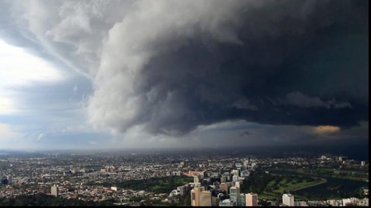 Avertizare de furtuni în ţară