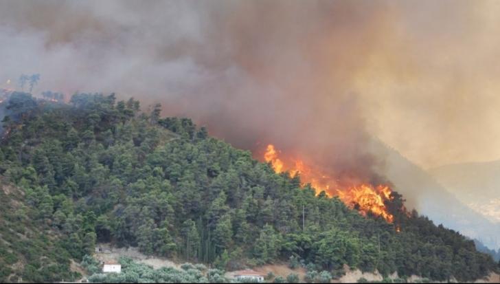 MAE avertizează: Risc ridicat de incendiu în Grecia. Ce zone sunt afectate