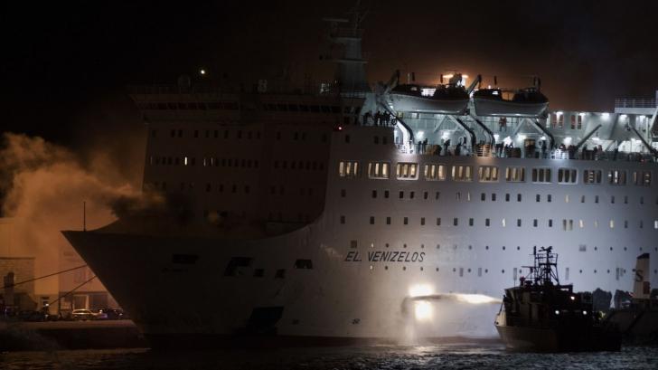 PANICĂ la bordul unui feribot, după ce acesta a liuat FOC. Ce s-a întâmplat cu pasagerii