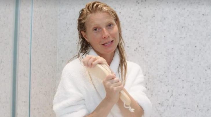 Gwyneth Paltrow arată fabulos fără machiaj, dar are un obicei ciudat