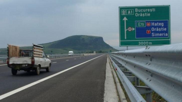 Se închide o bucată din A1. Trafic deviat 15 km pe un drum național