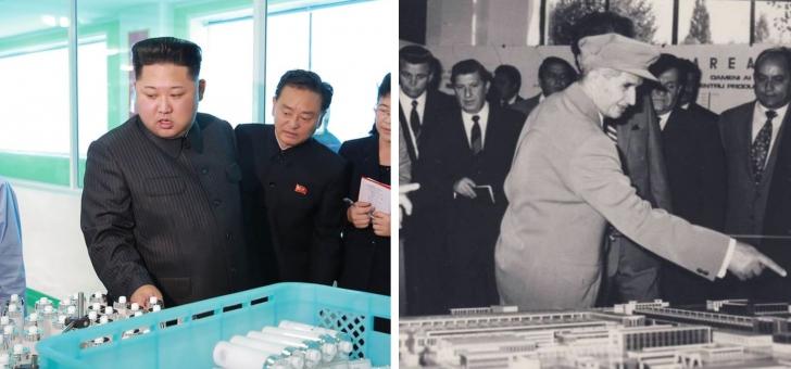 Imagini absolut fabuloase, Kim Jong-un în vizite de lucru, e leit Ceauşescu (GALERIE FOTO)