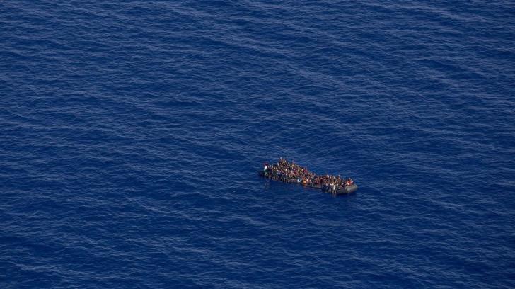 Peste 100 de persoane, salvate în Marea Mediterană