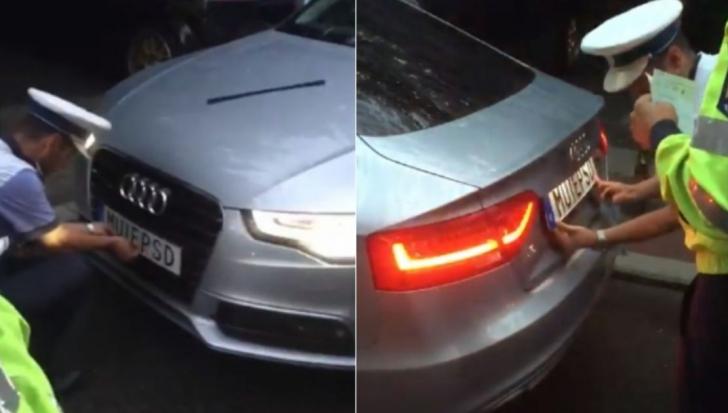 Celebra mașină cu numere anti-PSD, scoasă la vânzare. Ce preț cere proprietarul