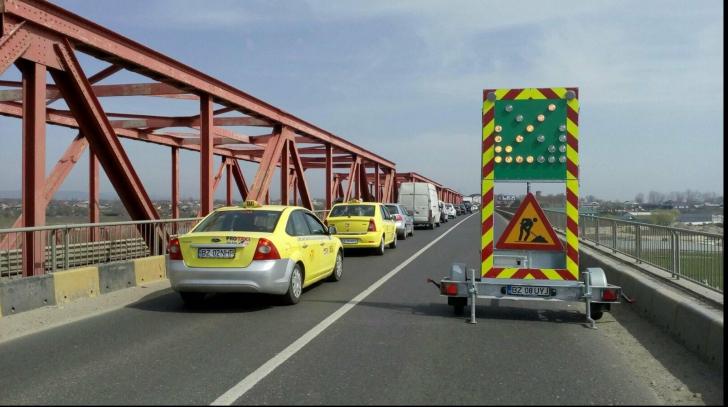 Se redeschide podul de la Mărăcineni!