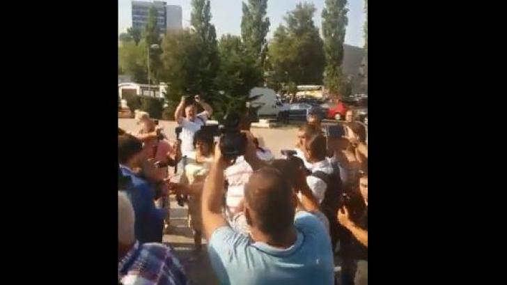 Protest la Mamaia, la Școala de Vară a Femeilor PSD. Viorica Dăncilă, huiduită