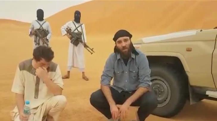 Primele imagini cu românul răpit în Libia