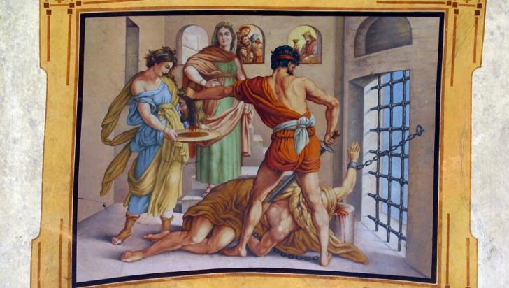 Rugăciune puternică de Tăierea Capului Sfântului Ioan Botezătorul