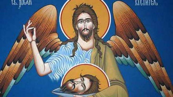 SĂRBĂTOARE MARE: Tăierea Capului Sfântului Ioan Botezătorul. Ce NU ai voie să faci astăzi