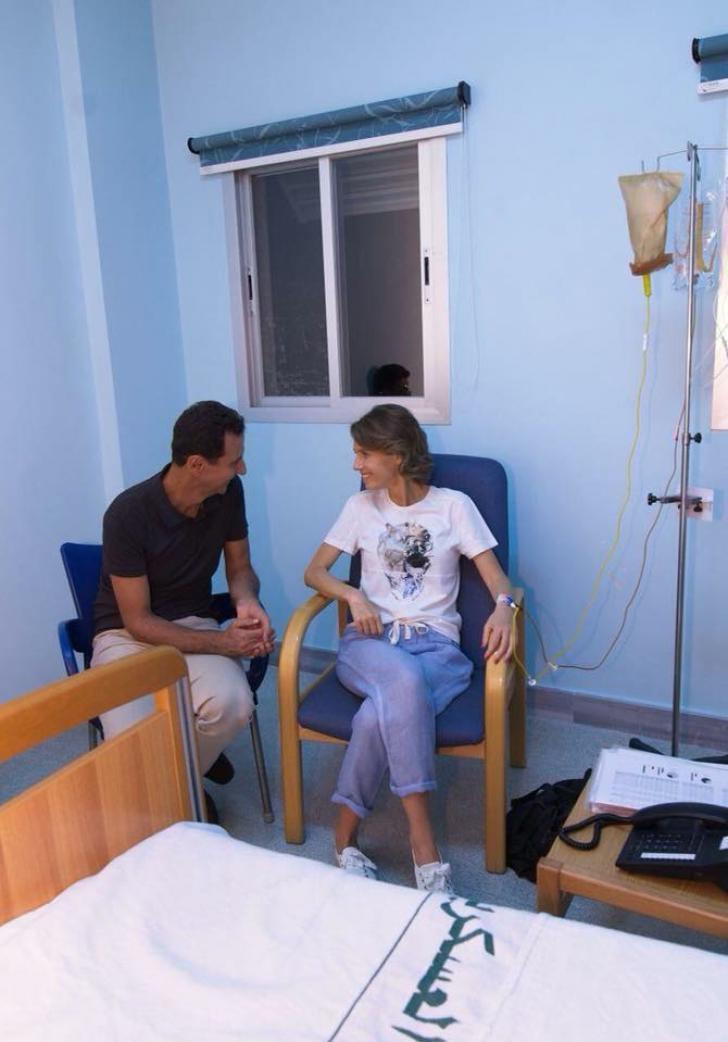 Soţia preşedintelui Siriei, diagnosticată cu cancer / Foto: Facebook