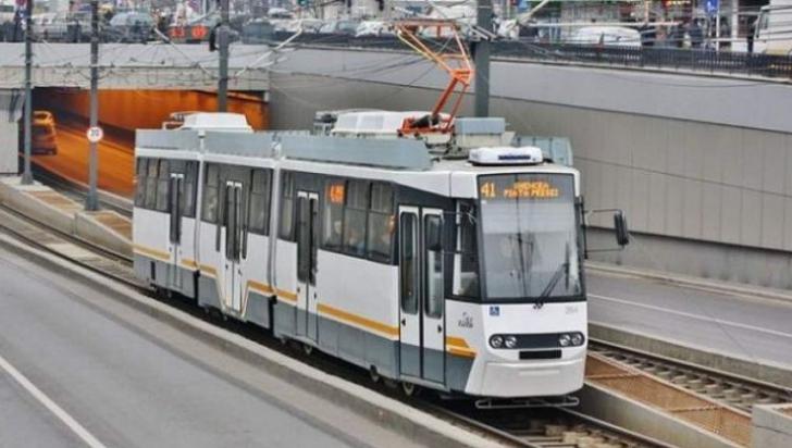 Atenţie bucureşteni! Tramvaiele liniei 41, blocate pe Bd. Mărăşti din cauza unei defecţiuni