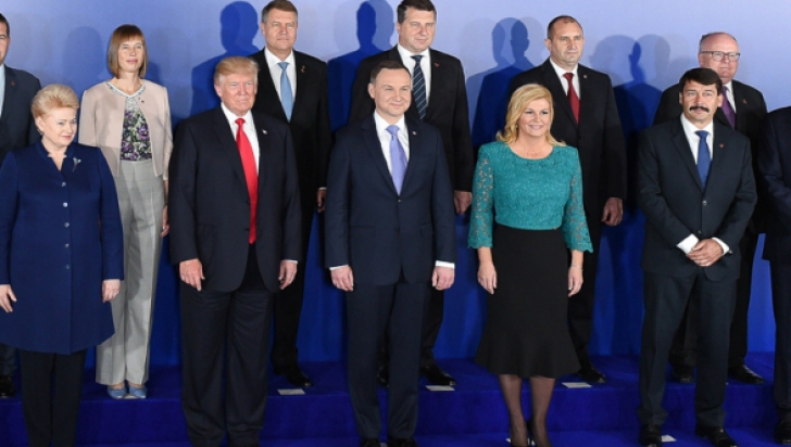 Summitul Inițiativa celor trei mări