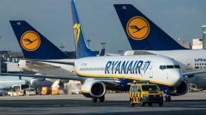 Ryanair va anula miercuri 150 de zboruri