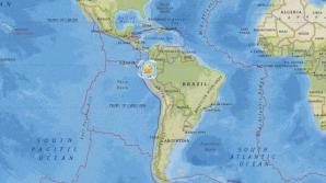 Cutremur cu magnitudinea 6,3 în Ecuador