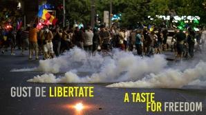Protest în Piaţa Victoriei, sâmbătă seară. Un pianist celebru, printre manifestanţi