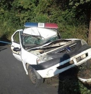 Poliţist din Constanţa, rănit grav într-un accident, în timpul misiunii / Foto: replicaonline.ro