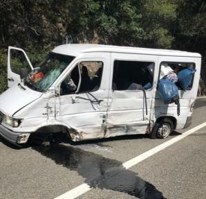 Impact violent pe Valea Oltului: 13 răniţi, între care 4 grav. A fost activat PLANUL ROŞU