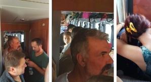Aglomerație în trenul București-Craiova