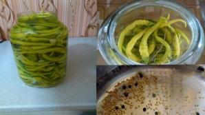 Aşa faci cei mai buni ardei iuţi bulgăreşti în oţet. Sunt delicioşi!