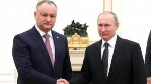 Întâlnire la nivel înalt între Igor Dodon şi Putin. Ce au stabilit cei doi lideri