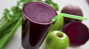 De ce este bine să bei suc de sfeclă roşie