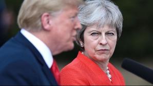 Theresa May şi Trump