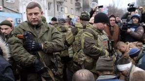 Alexander Zakharchenko, liderul rebelilor separatişti din estul Ucrainei