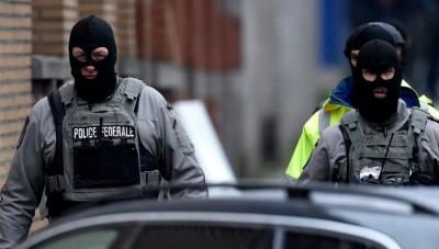 Intervenție forțe de ordine Bruxelles