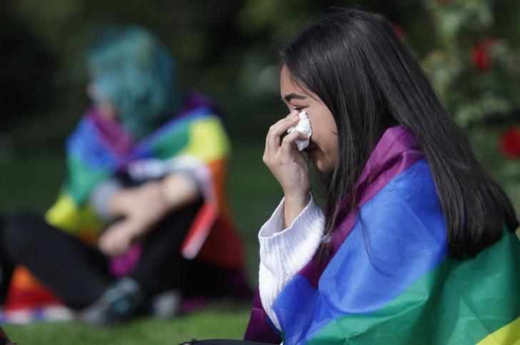 Protest al comunității LGBT cu o săptămână înaintea referendumului pentru familie