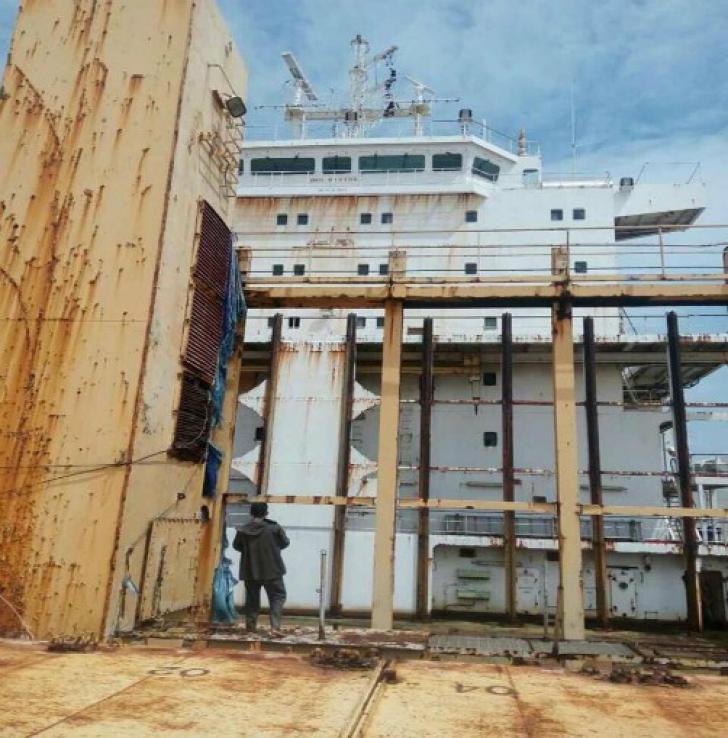 "Cargobotul indonezian ""Sam Rataulangi PB1600"" (Foto: Facebook)"