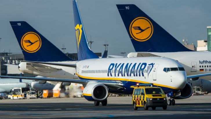 Compania irlandeză Ryanair, amenințată cu suspendarea zborurilor în Italia. Care sunt motivele