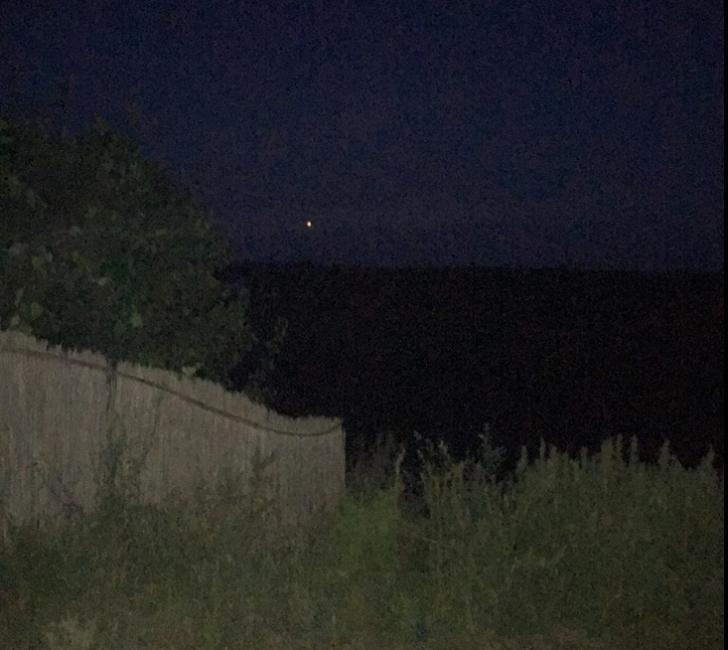 Lumini misterioase pe cer, în Delta Dunării.  Iluzie optică în masă sau vizite OZN?