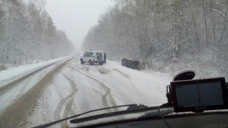Restricții de circulație din cauza ninsorii pe DN 1A