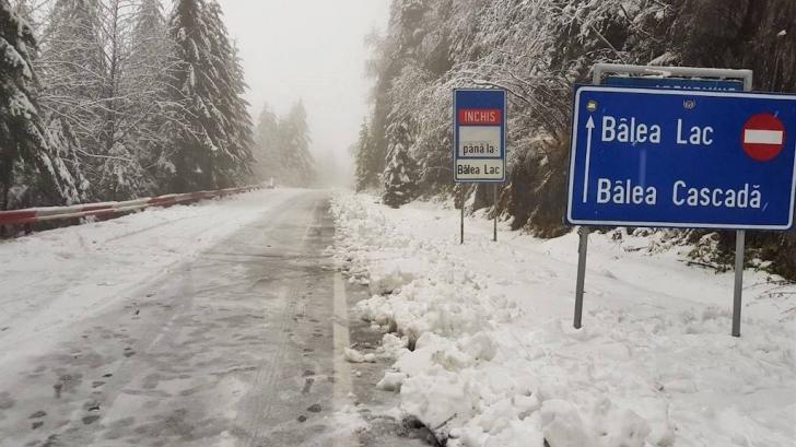 Iarnă în septembrie: Strat de zăpadă de 13 centimetri în România