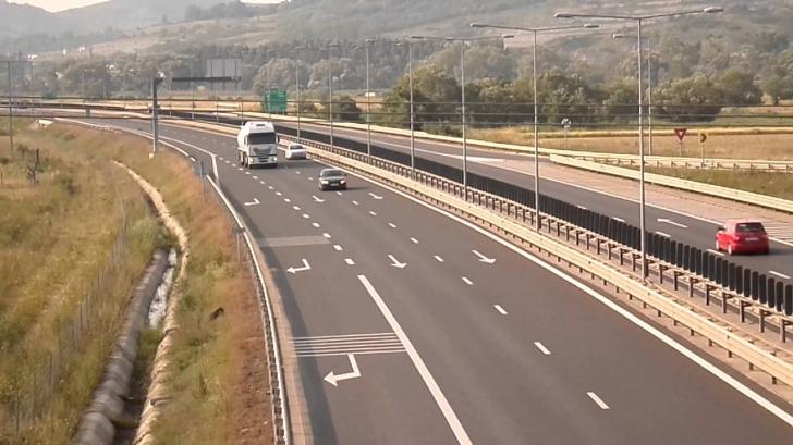Circulaţie restricţionată pe A1, pe sensul Bucureşti-Piteşti. Care este cauza