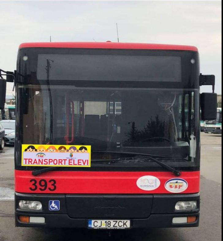 Experiment în Cluj. Vor fi introduse autobuze şcolare cu circuit închis