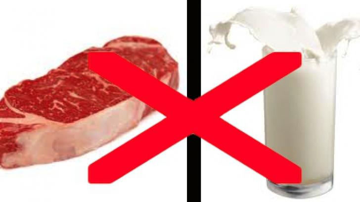 De ce evreii consumă separat carnea și laptele