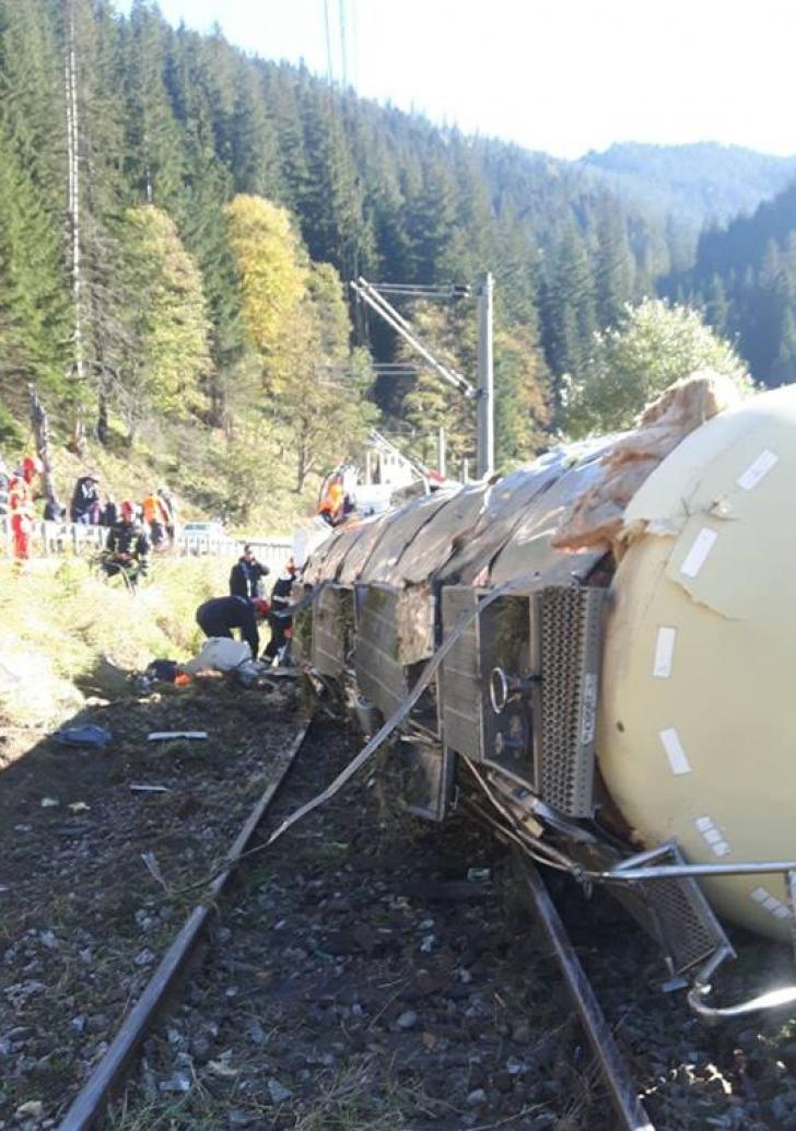 UPDATE: Trafic feroviar între Moldova şi Ardeal a fost redeschis