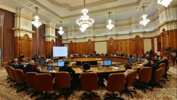 Ordonanța care permite revizuirea sentințelor, dezbătută în Comisia Juridică