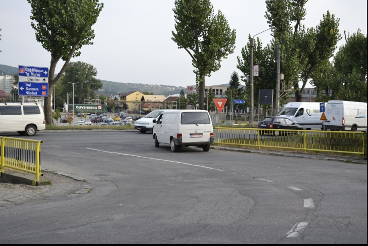 Sens giratoriu de 800.000 de euro la Bistrița!
