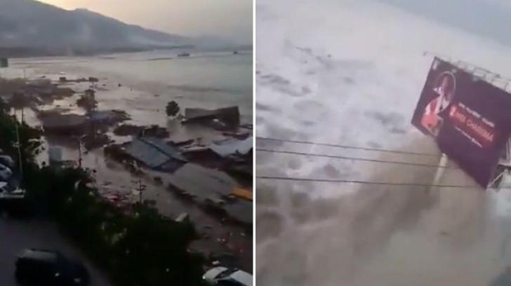 384 de morţi şi 540 de răniţi , după un cutremur urmat de tsunami în Indonezia. Imaginile groazei